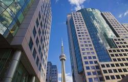 Distrito financiero de Toronto Imagen de archivo libre de regalías