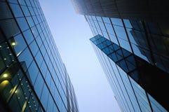 Distrito financiero en Londres Foto de archivo