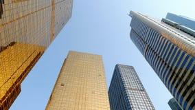 Distrito financiero moderno del edificio Imágenes de archivo libres de regalías