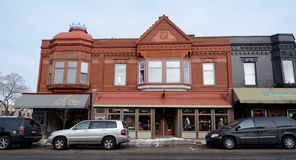 Distrito histórico Imagen de archivo libre de regalías