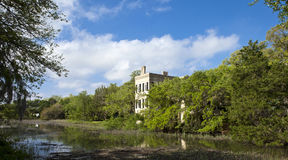 Distrito histórico de Beaufort, Carolina del Sur Imágenes de archivo libres de regalías
