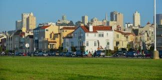 Distrito histórico del puerto deportivo del ` s de San Francisco Fotos de archivo libres de regalías