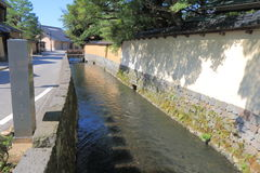 Distrito Kanazawa Japón del samurai de Nagamachi Fotos de archivo libres de regalías