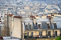 Distrito Montmartre imágenes de archivo libres de regalías