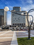 Distrito Montreal del entretenimiento Foto de archivo libre de regalías