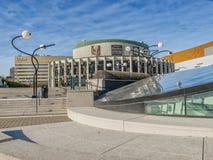 Distrito Montreal del entretenimiento Fotos de archivo libres de regalías