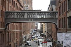 Distrito New York City de la industria cárnica Fotografía de archivo libre de regalías