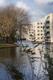 Distrito residencial Imagen de archivo libre de regalías
