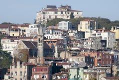 Distrito residencial de Istambul Fotos de Stock Royalty Free
