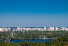 Distrito residencial de Kyiv Imagens de Stock
