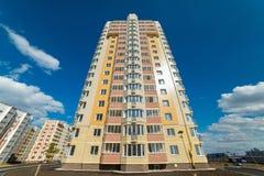 Distrito residencial novo Imagem de Stock