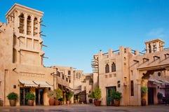 Distrito turístico de Madinat Jumeirah Fotos de archivo
