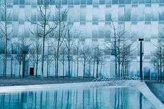 Distrito urbano moderno. Imagem de Stock Royalty Free