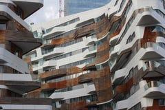 Distrito vivo de Milão imagem de stock