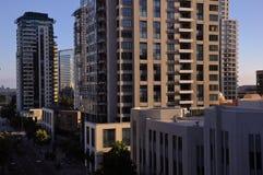Distrito vivo moderno Fotos de Stock Royalty Free