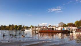 Distritos do lago Windere meros BRITÂNICOS Fotografia de Stock