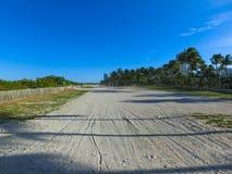 Distritos históricos através da praia sul famosa Fotos de Stock
