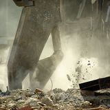 Distrugg Fotografie Stock Libere da Diritti