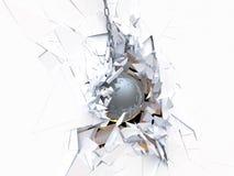 distruzione Fotografie Stock Libere da Diritti
