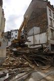 Distruzione di una casa Fotografia Stock Libera da Diritti