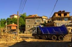 Distruzione dopo l'inondazione Bulgaria Immagini Stock Libere da Diritti