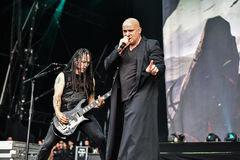 Disturbed live 2016 heavy metal band Stock Photos