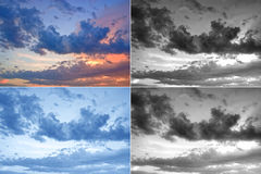 Disturbed sky Stock Photos
