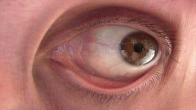 Disturbing Eye stock footage