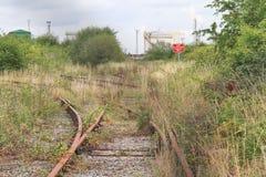 Disused железнодорожный след Стоковое Изображение RF