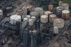 disused промышленный завод Стоковые Фото