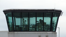 Disused Air Traffic Control Tower Royalty Free Stock Photography