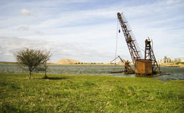 Old Crane Stock Photos
