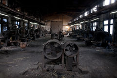 Disused factories Royalty Free Stock Images