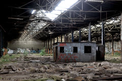Disused factory Stock Photos