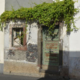 Disused house in Funchal, Madeira, Portugal Royalty Free Stock Photo