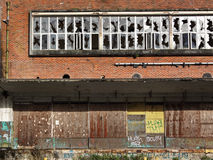 Disused indutrial site Royalty Free Stock Photography