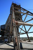 Disused Mine in Broken hill. An Old Disued mine on Broken Hill, New South Waled, Australia stock photography