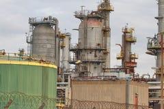 Disused Oil Refinery Stock Photos