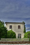 Disused Rail Building Outside Cividale del Friuli Royalty Free Stock Photos