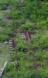 Disused railway line Royalty Free Stock Photography