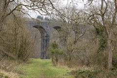 Disused Railway Viaduct. Stock Photo