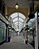Disused Shopping Arcade Stock Photography