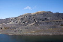 Disused Slate Mine in North Wales Stock Photos