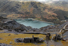 Disused Slate Quarry Stock Photos