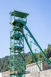 Disused tower of the potash mine of Cardona Royalty Free Stock Photography