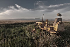 Disused tractor Royalty Free Stock Images