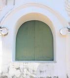 Disused window. Of the palace was abandoned in Phetchaburi Province, Thailand Royalty Free Stock Photos