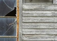 Disused Wooden Outbuilding Royalty Free Stock Images