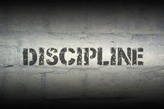 Disziplin WORT GR Lizenzfreies Stockbild