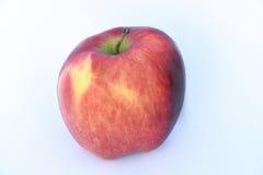 Dit is één rode appel Stock Foto